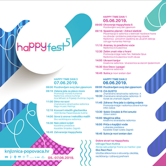 HAPPYFEST 2019 I FB Post Program program 1